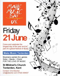 Make Music Day Tenterden 2019