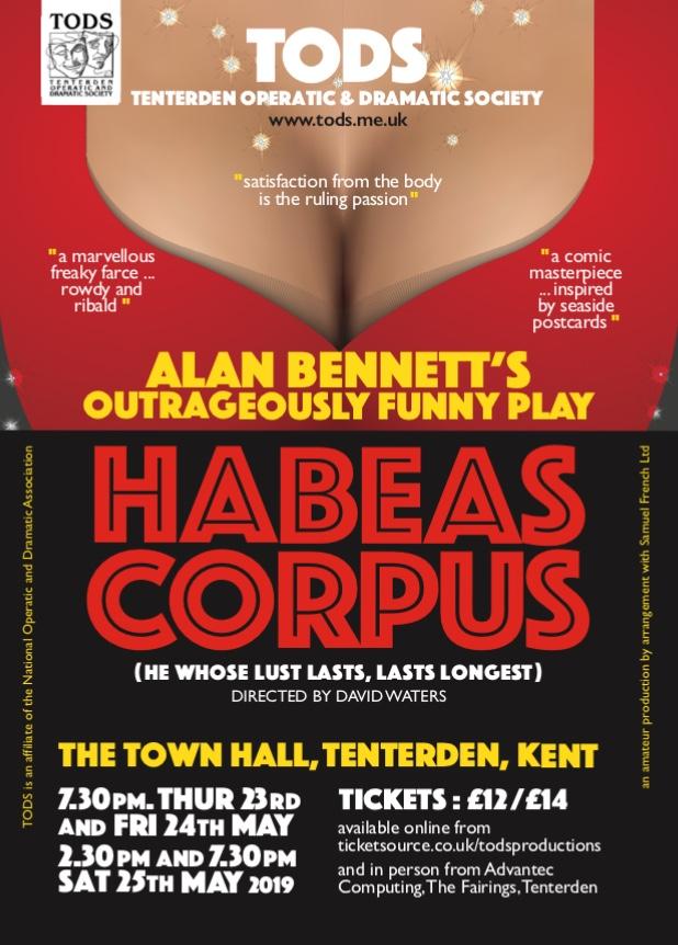 Habeas Corpus Poster