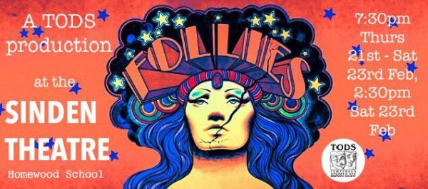 Banner Poster for Follies