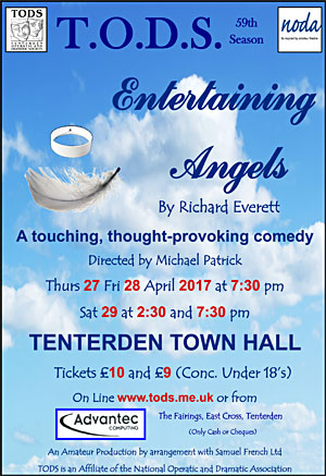 Poster for Entertaining Angels